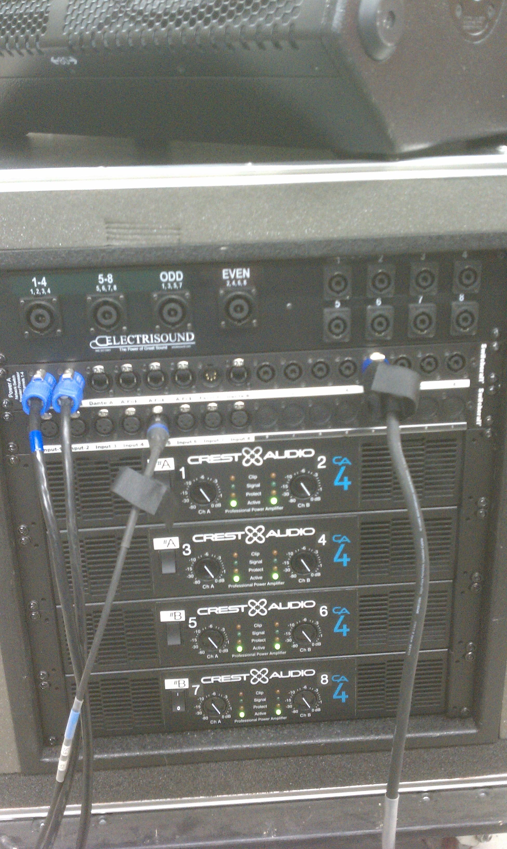 CA4 Rack Front